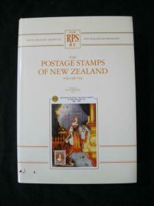 THE POSTAGE STAMPS OF NEW ZEALAND VOLUME VIII edited by B G VINCENT