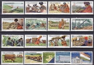 Transkei #5-21  MNH CV $12.85 (A18954)