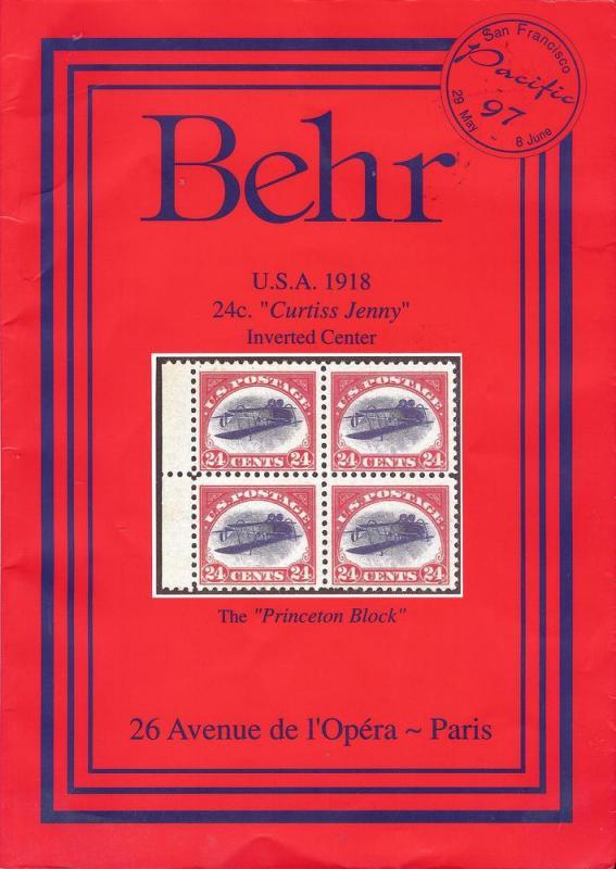 Behr - 55th Private Treaty Sale, Behr 55