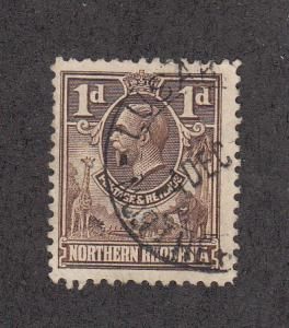 Northern Rhodesia Scott #2 Used