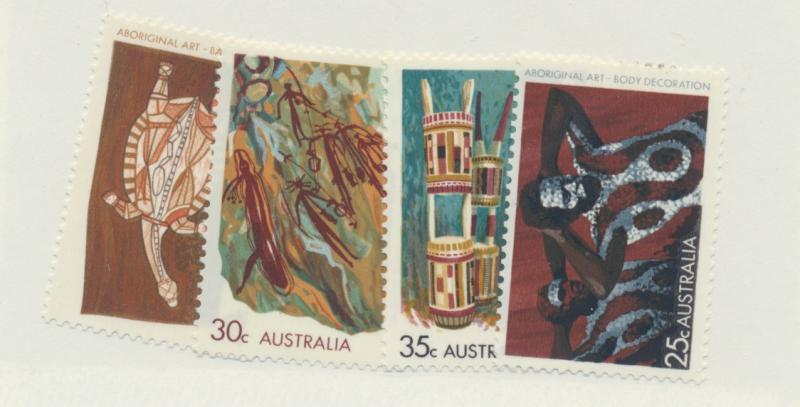 Australia Scott #504 To 507, Mint Never Hinged MNH, Aboriginal Art Issue From...