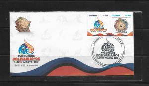 O) 2017 COLOMBIA, XVIII BOLIVARIAN GAMES SANTA MARTA 2017-OLYMPIC COMMITTEES-MEM
