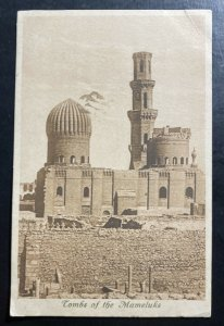 1915 Cairo Egypt Red Cross Hospital OAS RPPC Postcard cover To England