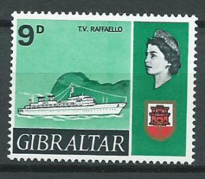 Gibraltar  SG 208   MUH