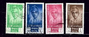Nepal 130-33 Used 1961 set