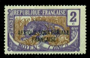 Middle Congo 1924 #24 MH SCV(2018)=$0.35