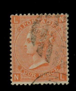 Great Britain #43 Used F-VF Cat$60