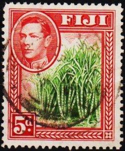 Fiji. 1938 5d S.G.259 Fine Used