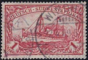German South West 1901 SC 31 Used