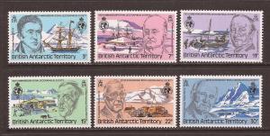 Br. Antarctic Ter. scott #76-81 m/nh stock #T373