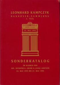 Kampczyk: Sale # 209  -  Sonderkatalog: Leonhard Kampczyk...