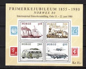 Norway SC# 765  1980 NORVEX S/S MNH