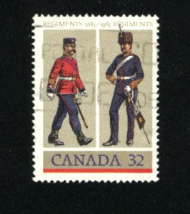 Can #1007   -3  used VF 1984 PD