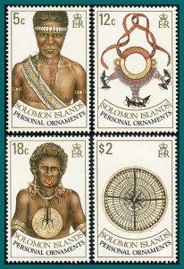 Solomon Islands 1990 Personal Ornaments, MNH #657-660,SG666-SG669