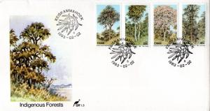 Ciskei - 1983 Indigenous Trees FDC SG 34-37