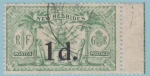 BRITISH NEW HEBRIDES 38  USED - NO FAULT VERY FINE!