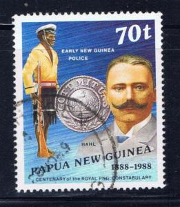 Papua New Guinea 694 Used 1988 issue