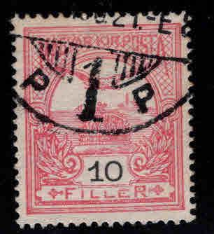 HUNGARY Scott 89 Used stamp