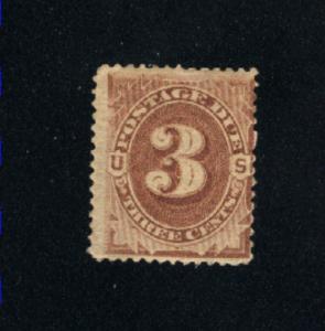 USA #J3   Mint  1879 PD