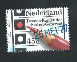 Netherlands - SC# 569 - (45c) - Elections of May 25th, used