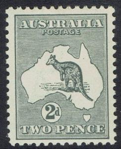 AUSTRALIA 1915 KANGAROO 2D 2ND WMK