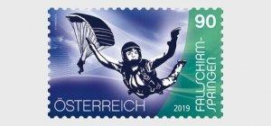 H01 Austria 2019  Sport and Air – Skydiving MNH Postfrisch