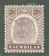 Malaya Negri Sembilan 6 Mint VF H