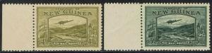 NEW GUINEA 1939 BULOLO AIRMAIL 4D AND 5D MNH **