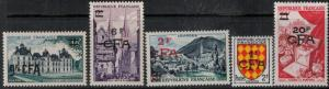 Reunion 1954 SC 299-309 Mint SCV $185.55 Set