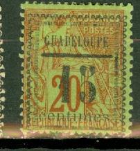 Guadeloupe 8 mint CV $32.50