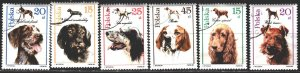 Poland. 1989. 3197-3202. Dogs. USED.