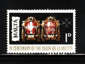 Malta 387 U Coat of Arms