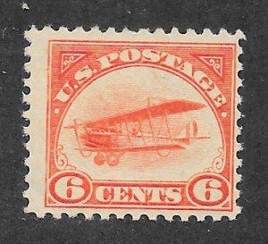 C1 Unused  6c. Air Mail,  scv: $55,  FREE Insured Shipping