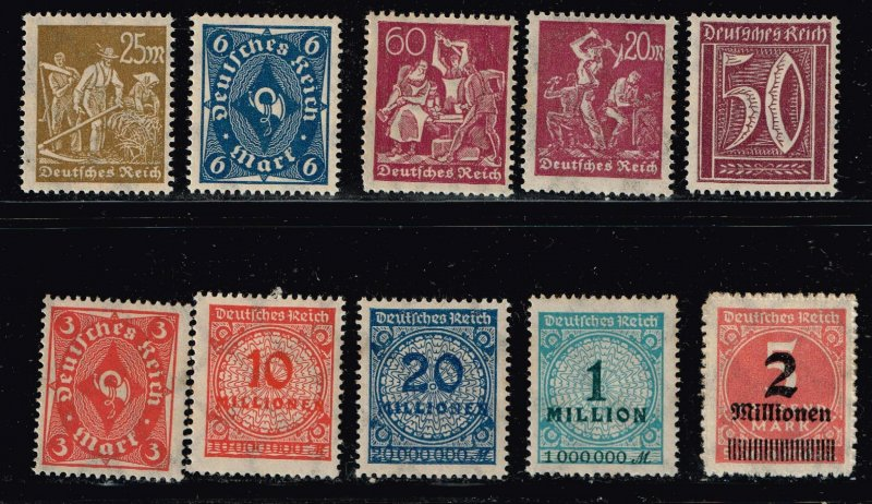GERMANY STAMP MINT STAMPS COLLECTION LOT #1
