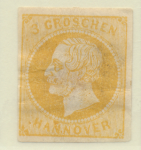 Hanover (German State) Stamp Scott #22, Mint Hinged, Hinge Remnants, Some Gum...