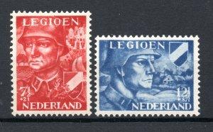 Netherlands 1942 Legion #B114-115 MNH Complete set