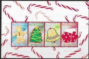 Gambia MNH S/S Christmas Colorful