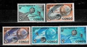 Congo 1965 Space Exploration MNH