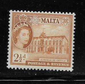 MALTA, 251,  MNH, POSTAGE & REVENUE
