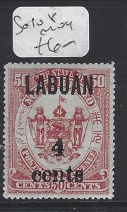 LABUAN  (P1209B)  4C/50C   SG 108   MOG