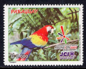 Paraguay 2825 Bird MNH VF