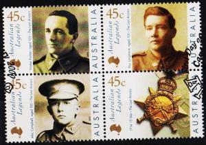 Australia. 2000 45c(Block of 4) S.G.1947/1950 Fine Used