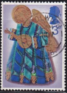 Great Britain 1972 SC #681 Angel with lute 3p. Used