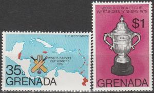 Grenada #747-8 MNH F-VF (V1603)