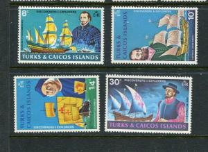 Turks & Caicos Islands #253-6 Mint