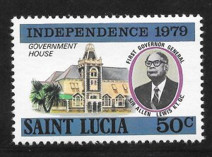 St Lucia Mint Never Hinged [4174]