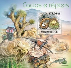 Mozambique MNH S/S Reptiles Snakes Lizards Turtles 2011