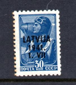 Latvia German Occupation  CV $25