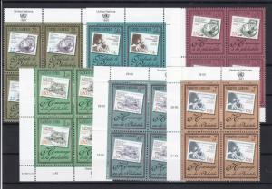 United Nations Mint Never Hinged Stamps  ref R 18289