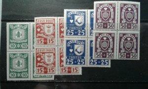 Estonia #B32-5 MNH blocks e201.6426